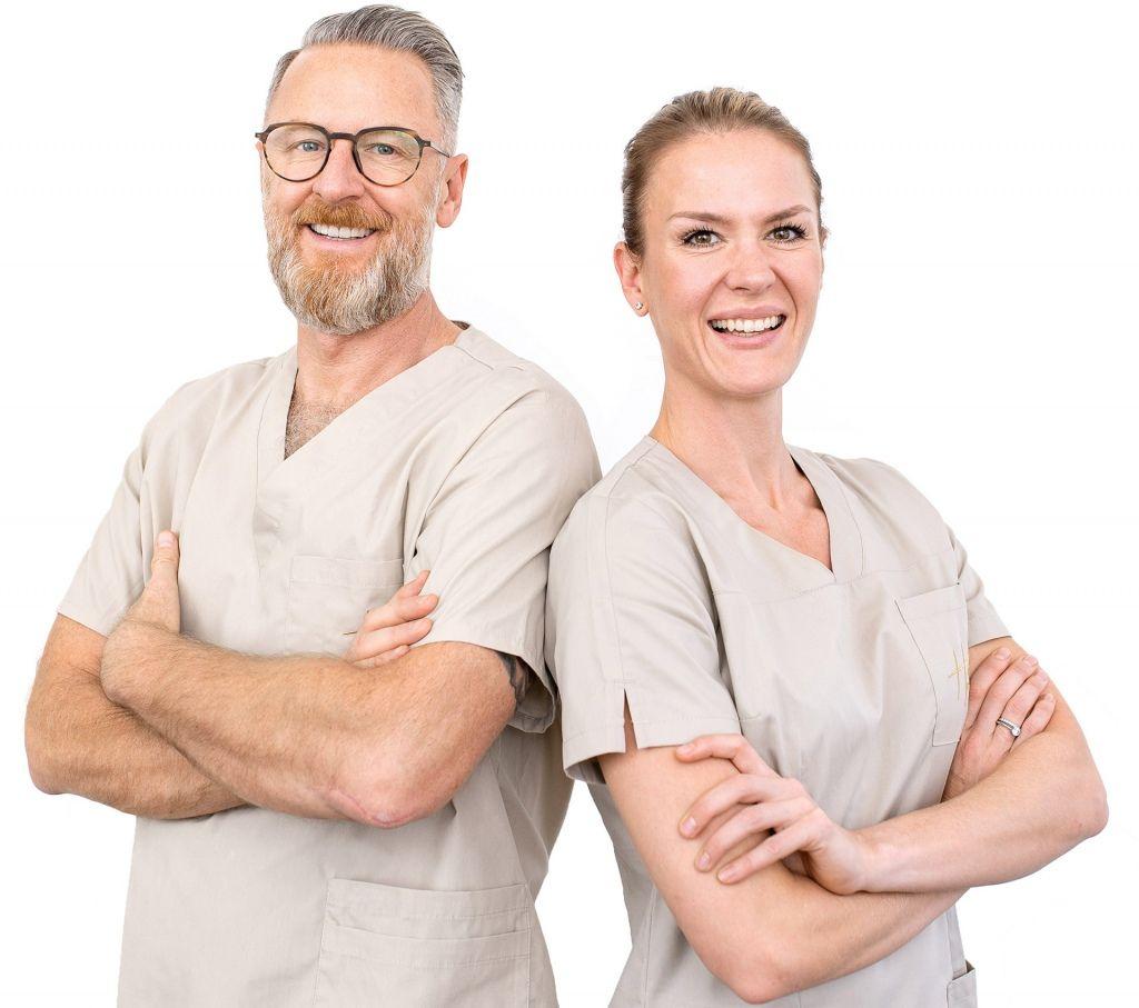 Zahnärzte Anne-Sofie und Steffen Hohl