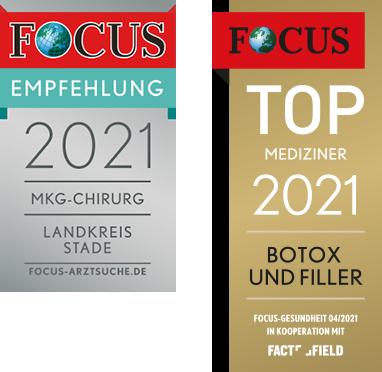 Focus Empfehlung MKG Chirurg Botox Filler 2021